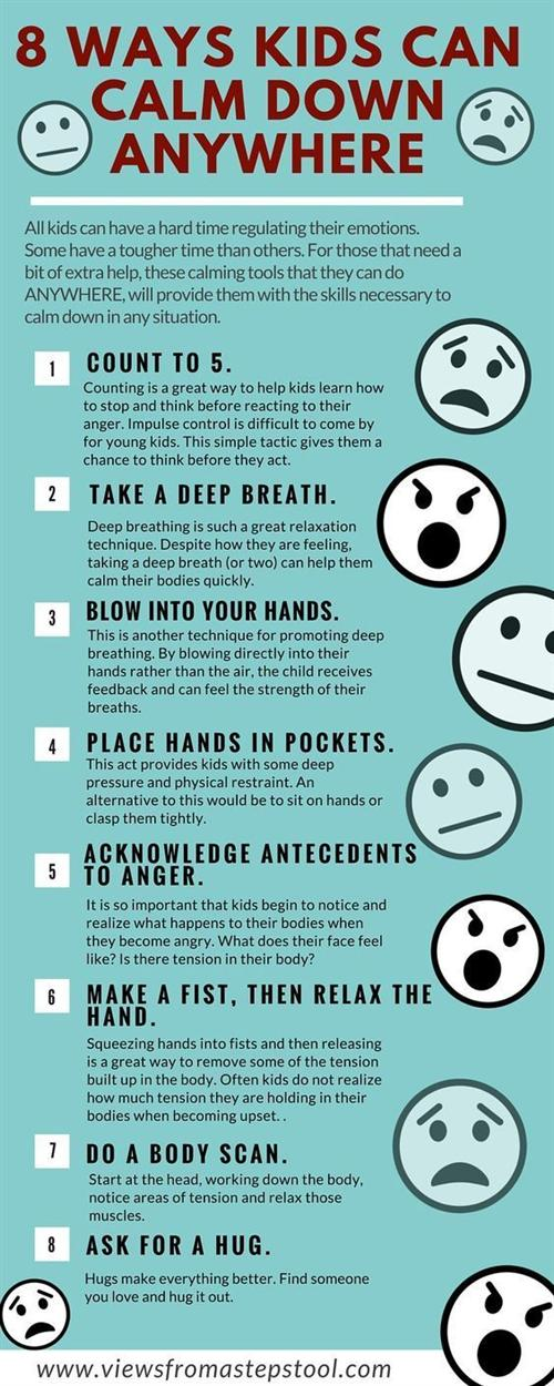 8 Ways Kids Can Calm Down Anywhere
