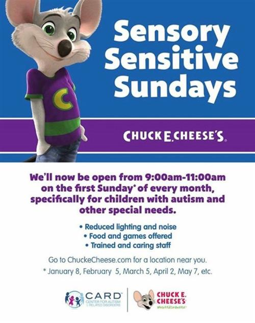 Sensory Sensitive Sundays
